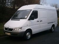 2005(55) MERCEDES-BENZ SPRINTER 311 MWB SEMI HIGH, COMPANY OWNED FROM NEW, READY FOR WORK, NO VAT!!