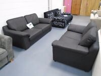 3+2 Leather Sofa Or Corner Sofa. Comes In Black, Brown And Cream. Bonded Or Natural Leather