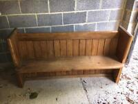 Church Pew Bench For Sale