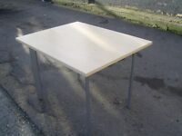 SVEN CHRISTIANSEN BEECH WOODEN OFFICE MEETING TABLE