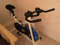 Pro Fitness Spin Bike for sale excellent condition hardly used