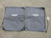 Casio Accessory Bags x 2