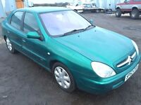 2002 52 CITROEN XSARA 2.0 HDI DIESEL MOT 2/2018 DELIVERY ANYWHERE IN UK PART EX WELCOME