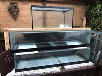 2ft and 4ft tanks for sale