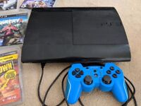 Sony playstion 3 PS3 console with 26 games.