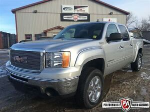 2010 GMC Sierra 1500 HYBRID Loaded 4x4 Custom leather!!