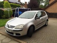 VW GOLF MK5 - FULL CUSTOM LEATHER INTERIOR - HEATED SEATS - A VERY GOOD AND WELL LOOKED AFTER CAR