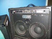 Fender rumble 2x10 bass combo