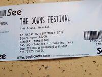Downs concert tickets