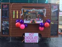 Lovely novelty shack vintage catering trailer