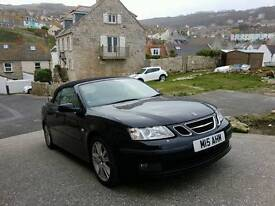 SAAB 9-3 Convertible, Black!