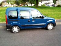2002 Renault Kangoo wheelchair adapted / mobility car with electric winch