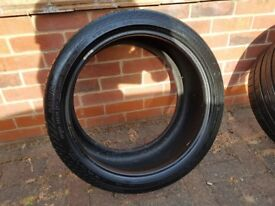 285/30 ZR 19 Continental Contisportcontact tyre. 6-7mm no damage.