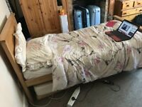 Single bed turn into double!!