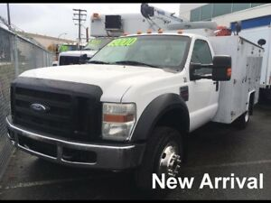 2008 Ford F550 SD 4x4