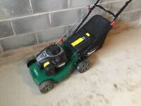 Qualcast petrol rotary mower for sell