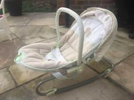 Mothercare vibrating baby chair