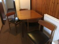 Dining table and 4 chairs ****FREE TO TAKE AWAY****