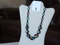 COSTUME JEWELLERY NECKLACES - ALL BRAND NEW - SOMETHING FOR EVERYONE - SCROLL THROUGH PICTURES
