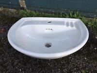 Stylish look sink white £25 can deliver