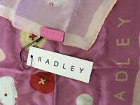 New - Radley silk scarf