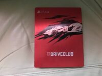 Driveclub PS4 Steelbook very rare