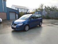 2007 vw touran 1.9 tdi 7 seater