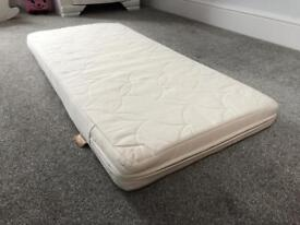 Natural Coir Cot Mattress Mothercare Size 56x118cm