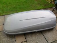 ROOF BOX - 460 litres plus THULE roof bars (if required for extra £20)