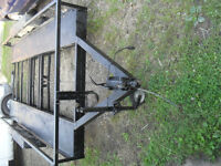 CAR TRANSPORT 4 WHEELED TRAILER 14X6 BED IDEAL FOR CARS VANS OR BANGER RACING