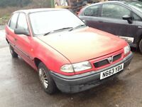 1996 Vauxhall Astra MK3 1.4 merit red BREAKING FOR SPARES