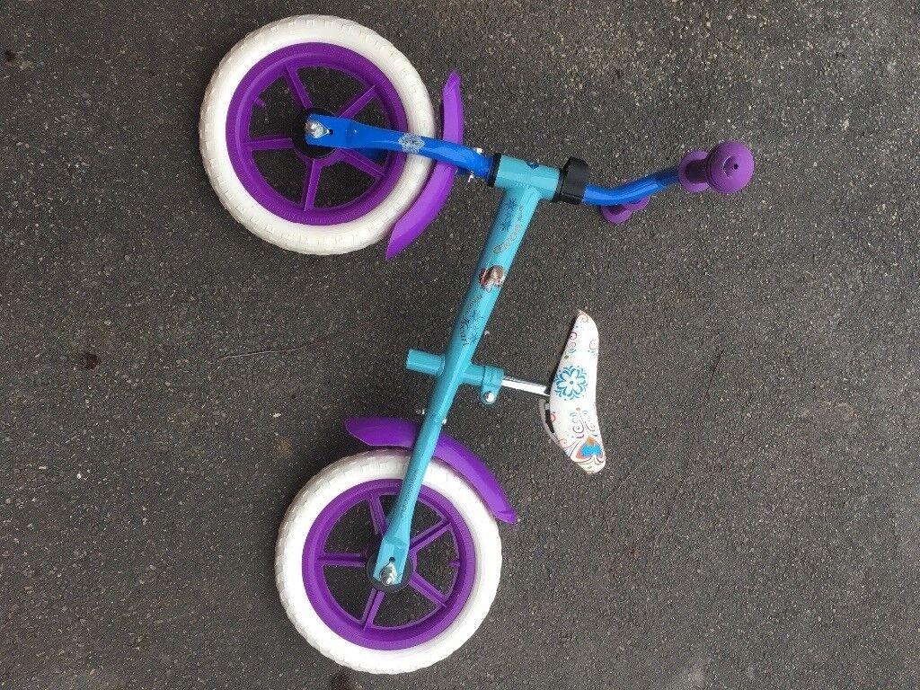 Frozen Balnce bike great condition
