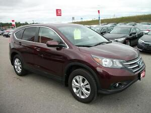 2013 Honda CR-V EX 4WD 5-Speed AT/CERTIFIED PRE OWNED!! Kawartha Lakes Peterborough Area image 3