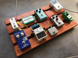 ***Mr ED's Custom Boards*** Handmade Pedalboard***Sussex UK***