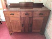 antique vintage side unit dresser cupboard