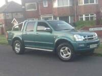 2004 ISUZU RODEO DENVER LWB 4WD MANUAL PICKUP LOW MILEAGE