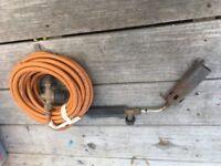 Gas hot air torch