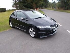 2009 09 HONDA CIVIC 1.8 TYPE S 3 DOOR MOT JANUARY 2018