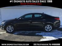 2013 Kia Optima Leather,Only 9000 km, Sporty