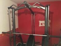 Marcy mwb 1282 multi gym smith machine