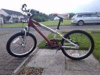 3-speed Schwinn child's bicycle with front shocks