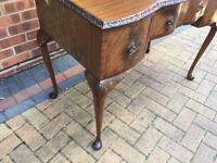 Lovely ornate Hall table or Dressing Table ideal Shabby Chic Project