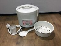 Weking Rice Cooker with Steamer 500W 1L