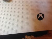 X box one with 3 Games And headset