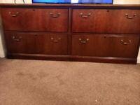 Fillings cabinet side board solid wood