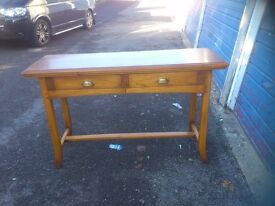 TWO CONSOLE/ SIDE TABLE