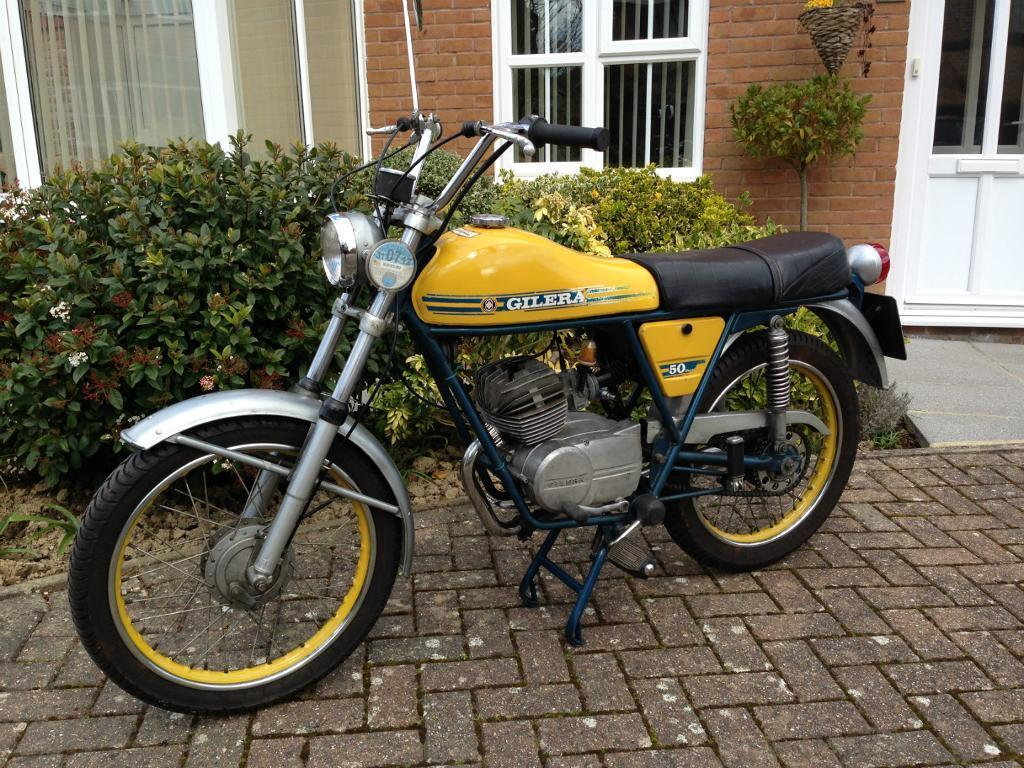 Bike Blue Book >> Gilera 50 Touring RS 1974 Classic Moped | in Horsham, West Sussex | Gumtree