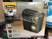 Fellowes Powershred P-20 x 2 personal shredders