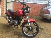 Sukida Commuter 125 - VERY low mileage