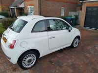 2008 White Fiat 500 1.4 Lounge - FOR SALE